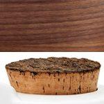 Walnut Cork lid